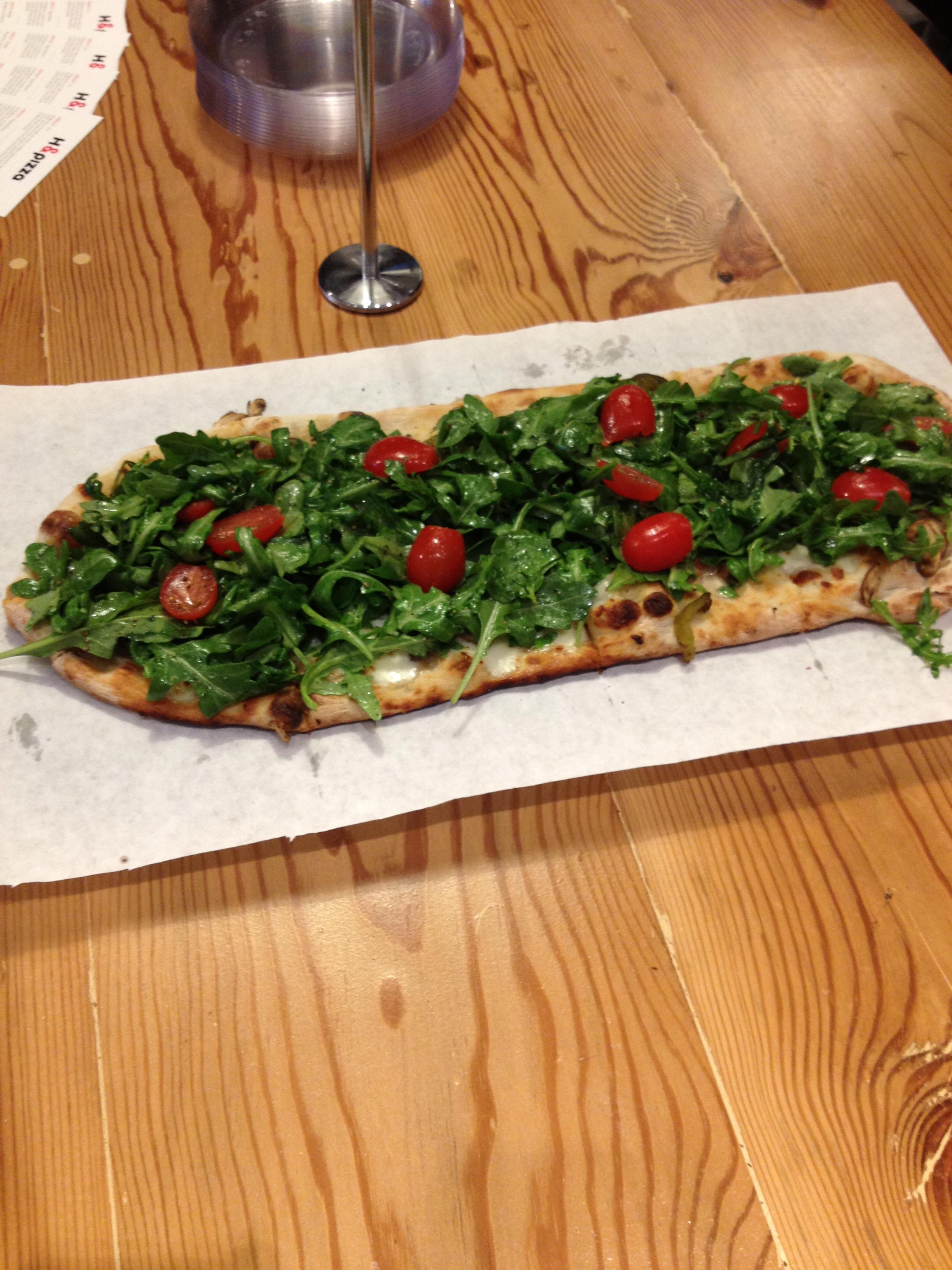 h u0026pizza opens on h street photos district cuisine
