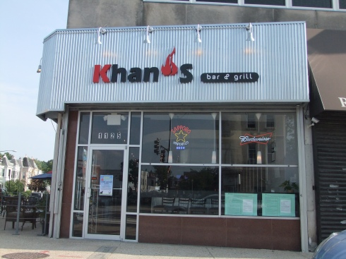 Khan's Bar and Grill on H Street