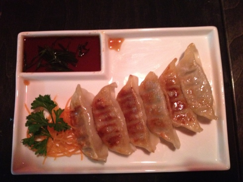 Gyoza at Hikari Sushi and Sake Bar