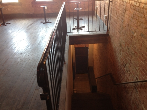 Stairs to First Floor at Sol Mexican Grill