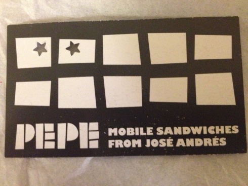 Loyalty Card from Pepe
