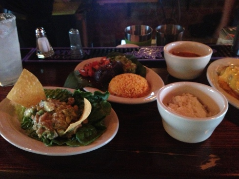 Sampling Dishes at Sol Mexican Grill