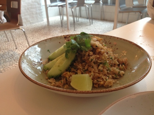 Khao Phat Puu (Blue Crab Fried Rice) at Doi Moi
