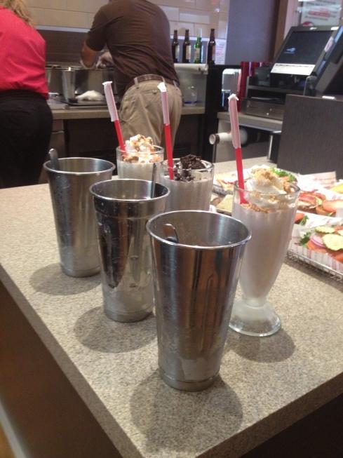 Smashburger Milkshakes
