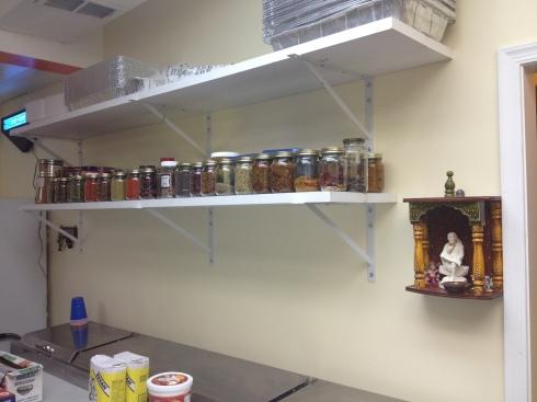 Spice Jars in the Kitchen at Indigo