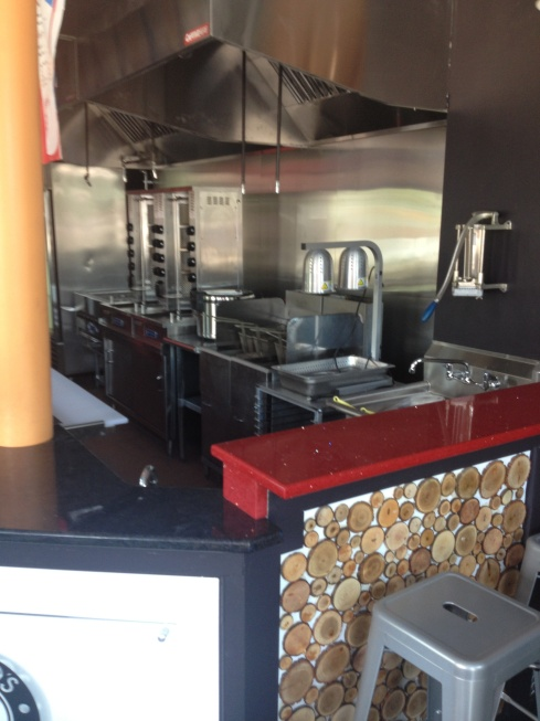 Open Kitchen at Micho's Lebanese Grill