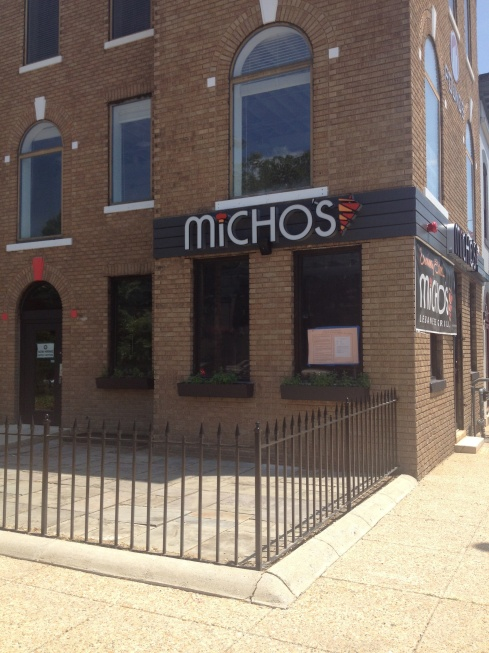 Outside of Micho's Lebanese Grill