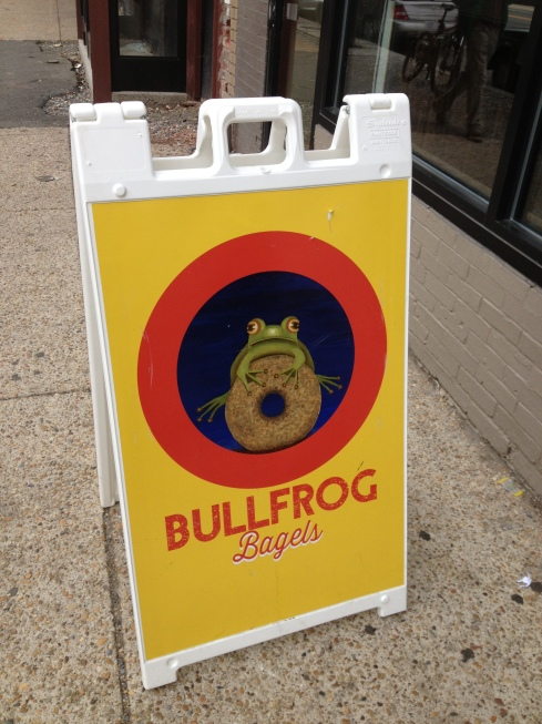 Bullfrog Bagels on H Street