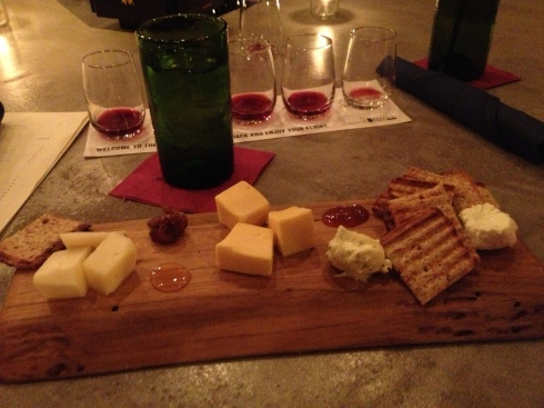 Cheeseboard at Pursuit Wine Bar