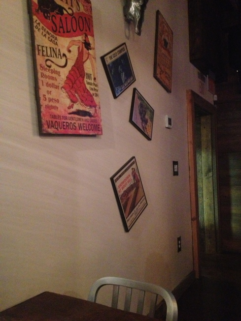 Interior Wall at Kitty's Saloon