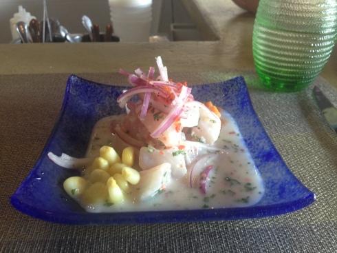 Classico (Mahi Mahi) Ceviche at Ocopa