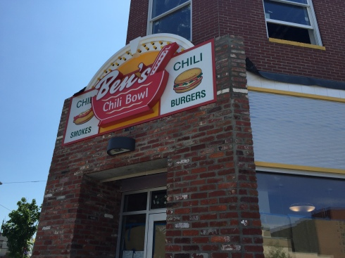 Signage Up at Ben's Chili Bowl on H Street