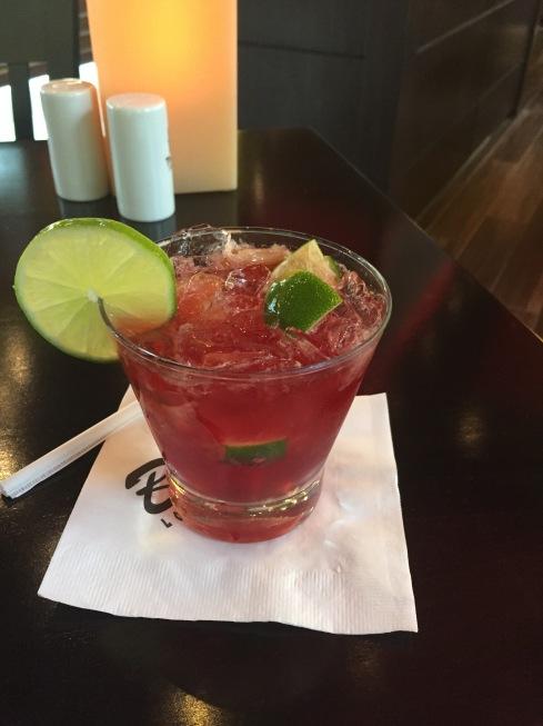 acai drink at texas de brazil