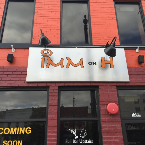 Signage for IMM Thai on H Street