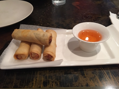 Veggie Spring Roll at IMM Thai