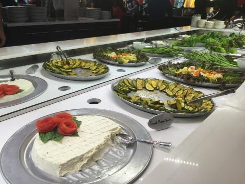 Salad Bar at Texas de Brazil