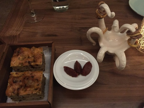 Bread Presentation at Masseria