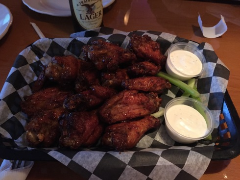 Wings at 6th and H Bar and Grill