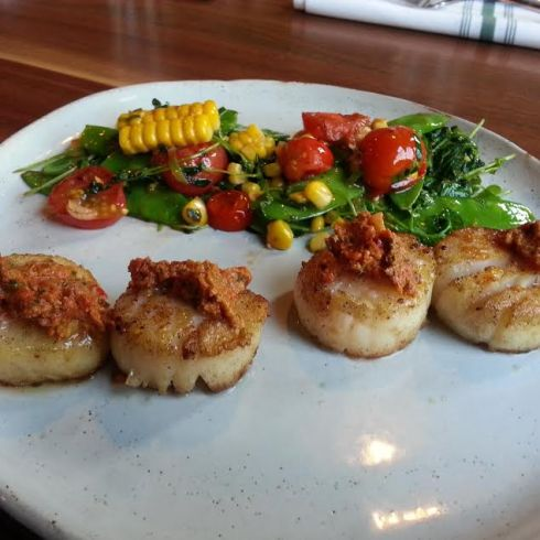 Scallops at DC Harvest