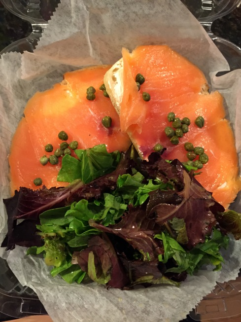 Fourth Street Sandwich (Smoked Salmon) at Batter Bowl Bakery