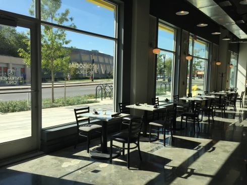 View from Inside Union Social Overlooking Florida Avenue