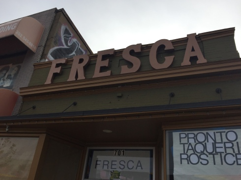 Fresca Taqueria Prior to Its Opening on H Street
