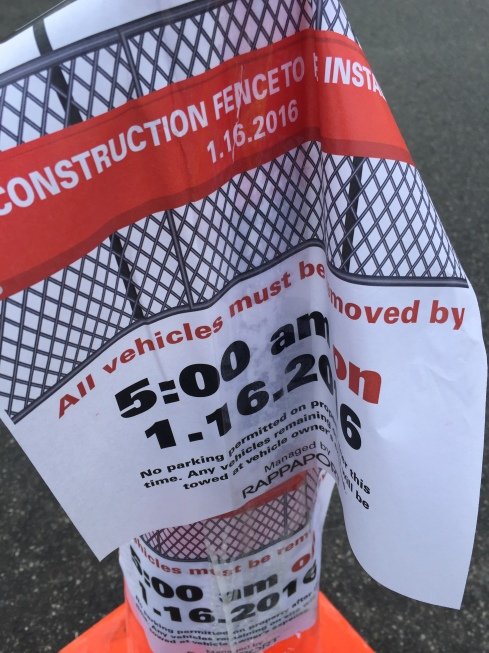 Site of H Street Connection Will Be Fenced Off Starting January 16