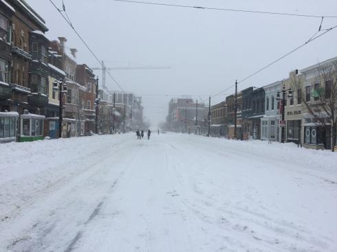 Snowy H Street