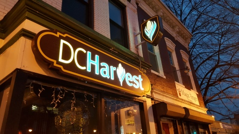 New Signage at DC Harvest