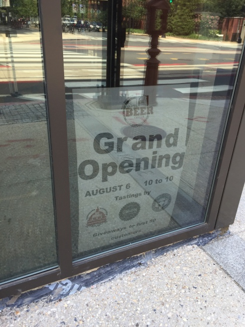 Grand Opening for Craft Beer Cellar at 301 H Street