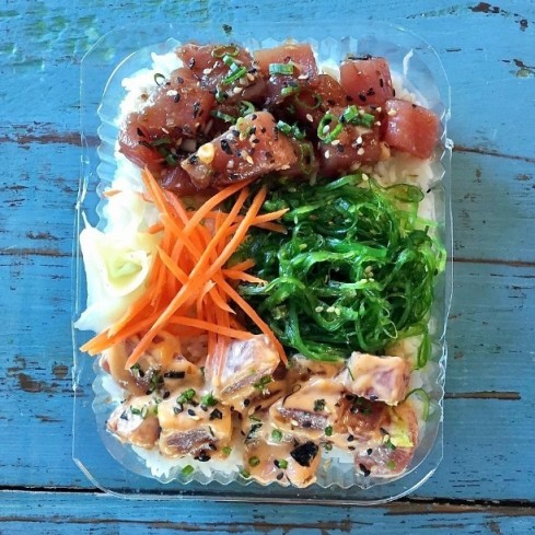 Poke Bowl at District Fishwife