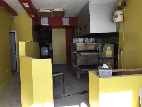 New Interior at Citi Pizza on H Street
