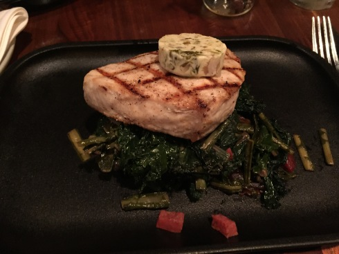 Grilled Swordfish on Fall Menu at DC Harvest