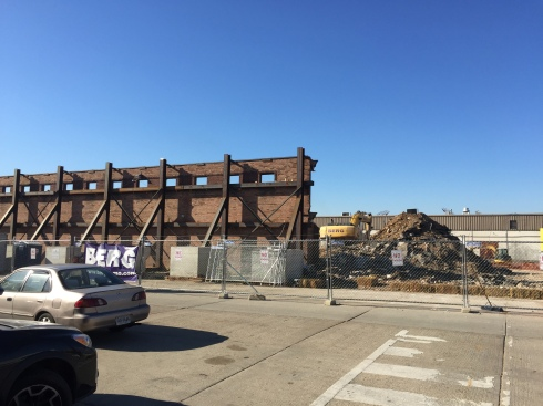 Major Demolition Underway at 1270 4th Street, NE