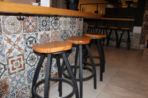 Tiling Around the Bar at Sospeso