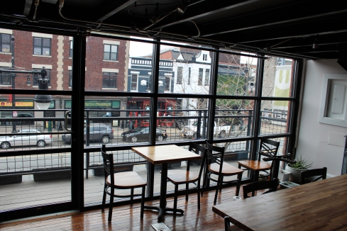 Balcony Overlooking H Street at Sospeso